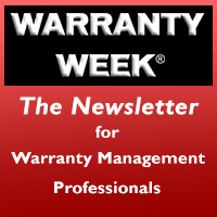 Warranty Week Logo Press Release