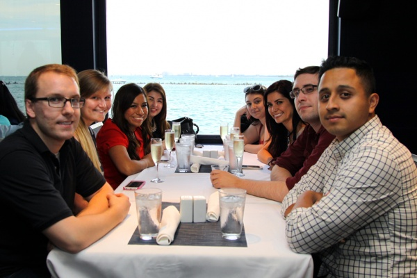 PCMI Chicago company outing at the Mystic Blue Dinner Cruise