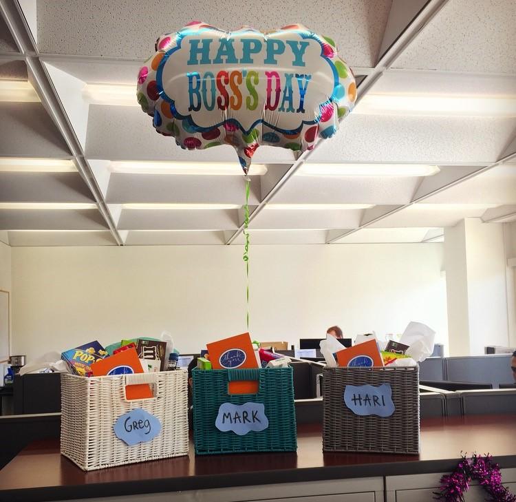 Celebrating Boss's Day