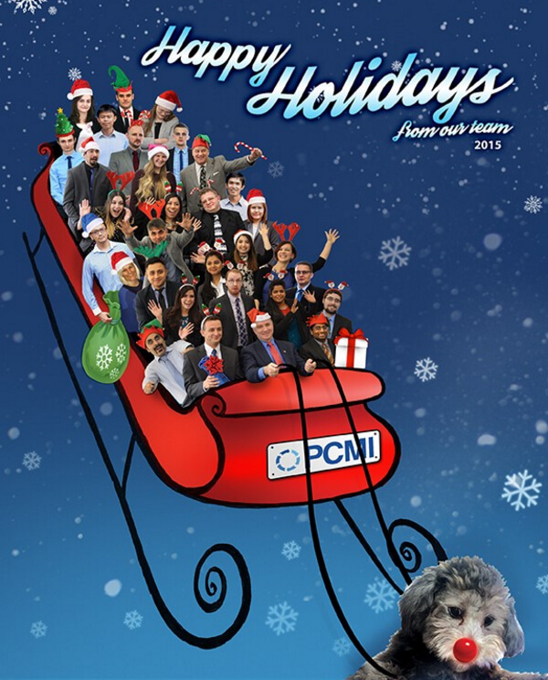 Happy Holidays from our PCMI Team