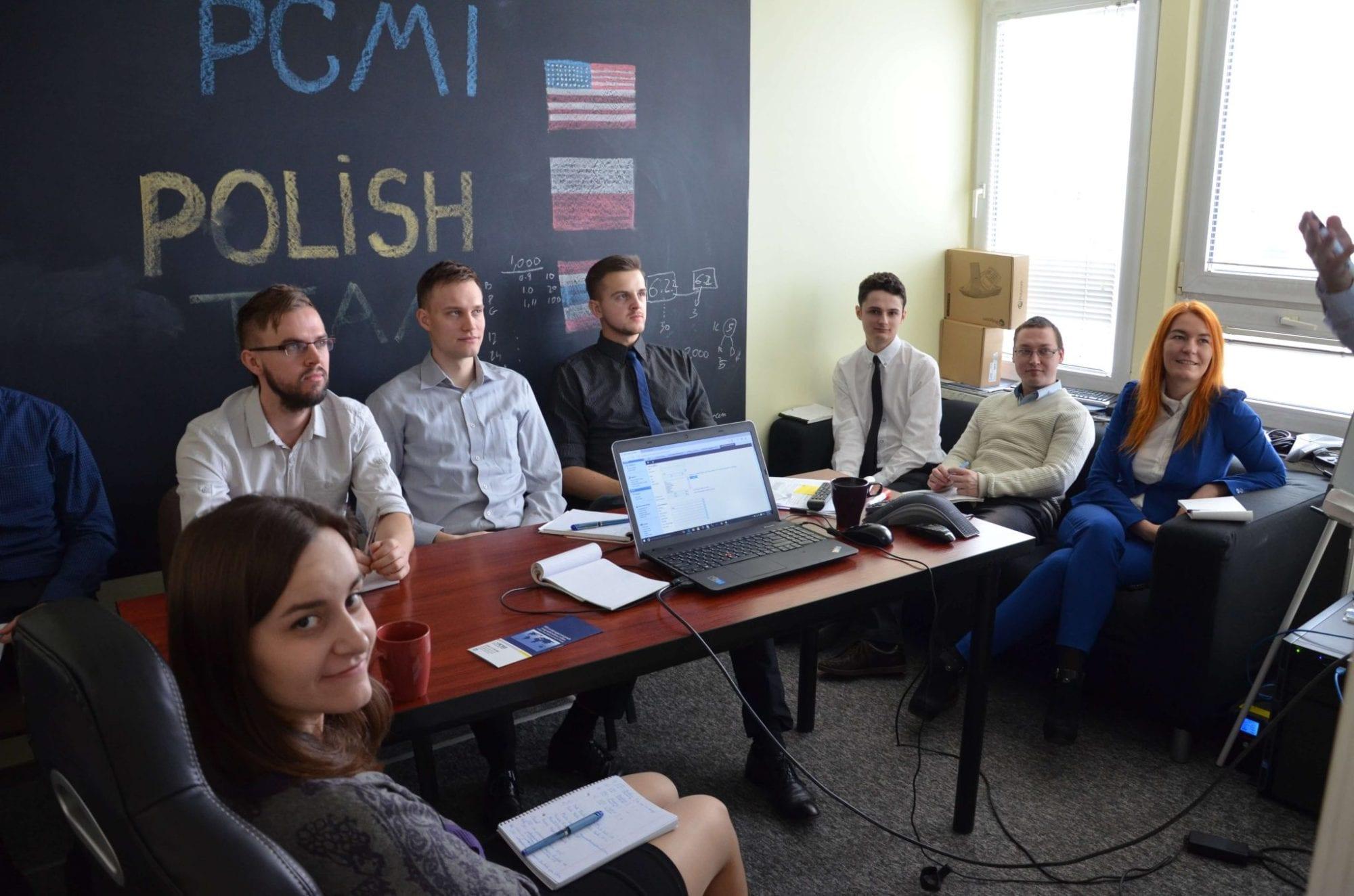 Greg Kasprzycki Visits PCMI Poland