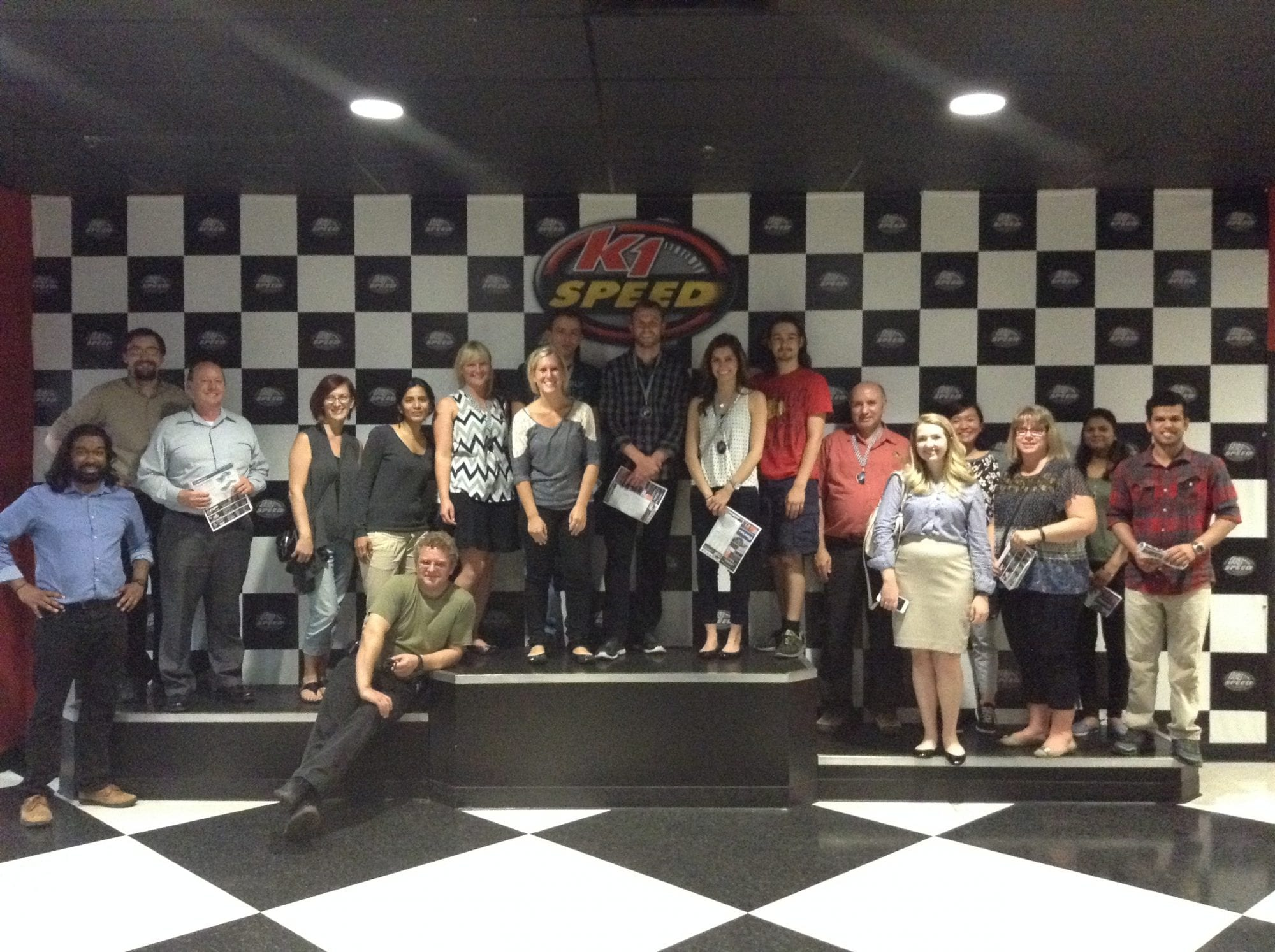 PCMI Chicago company outing at K1 Speed Indoor Go-Kart Racing