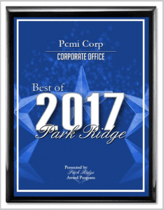 2017 Best of Park Ridge Award