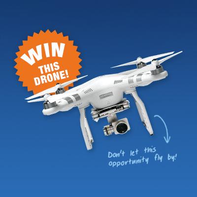 Enter PCMI's Raffle to Win a DJI Phantom 3 Drone!