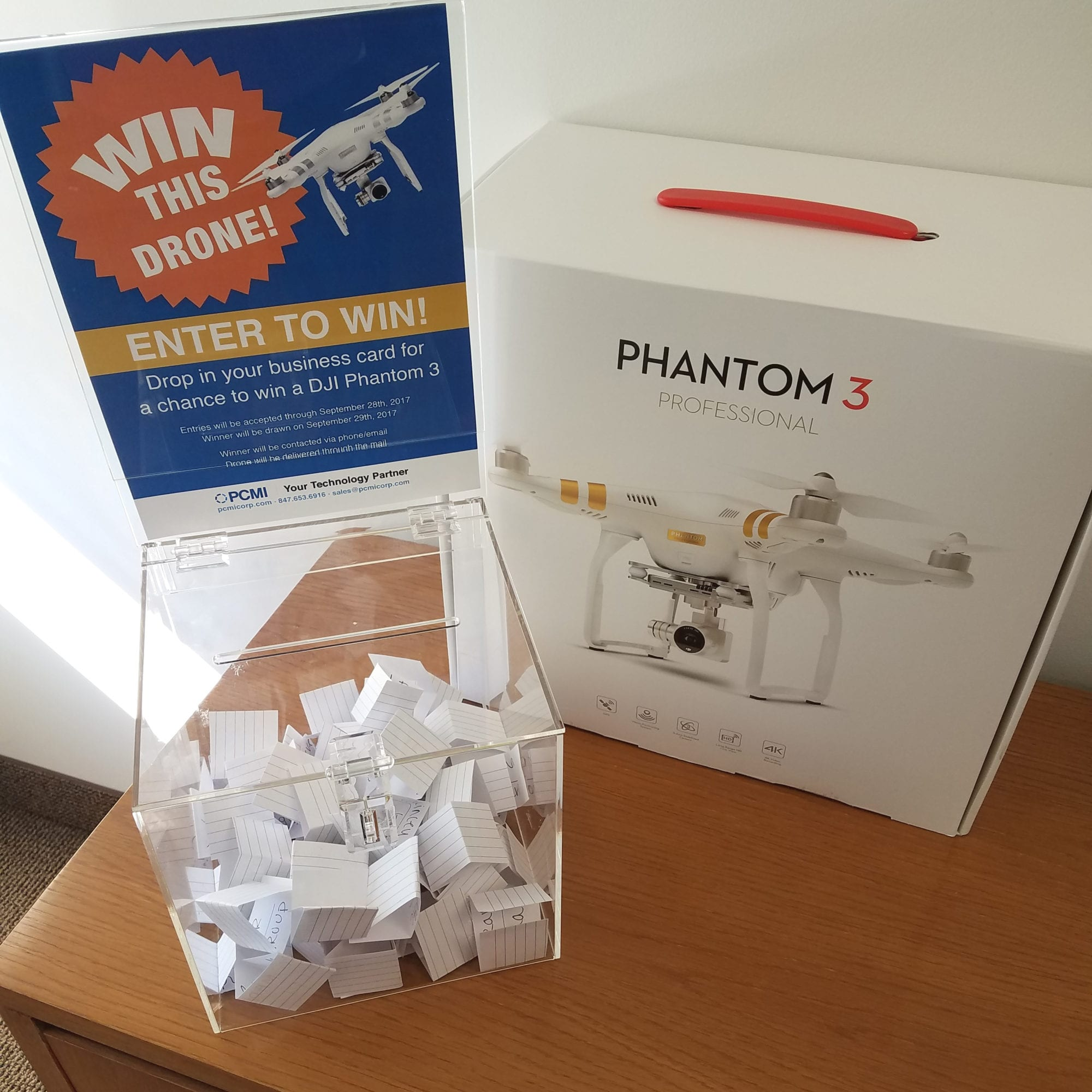 Congrats to the Lucky Winners of PCMI's DJI Drone Raffle!