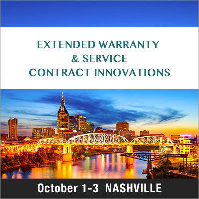 Extended Warranty & Service Contract Innovations 2018 Event