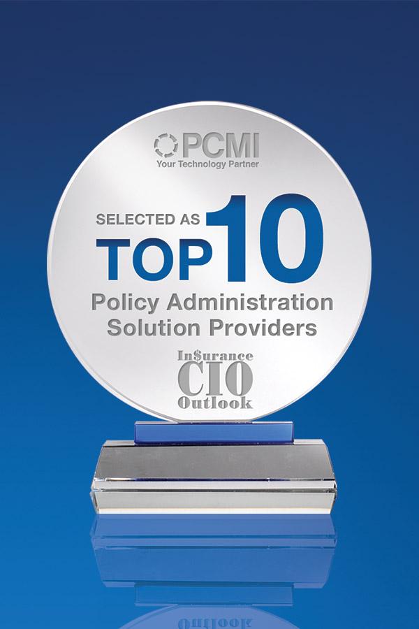 Insurance CIO Outlook Top 10 Awards Press Release