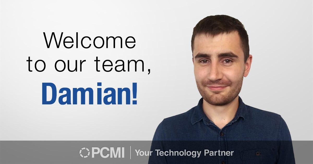 PCMI New Hire Damian Kazek