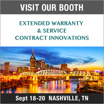 visit our booth at warranty innovations