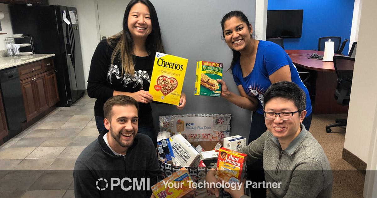 pcmi thanksgiving food drive