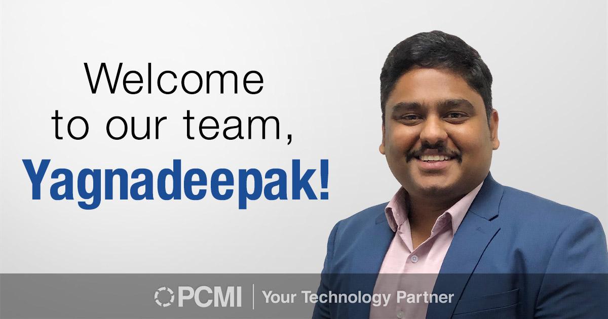 welcome to our team Yagnadeepak