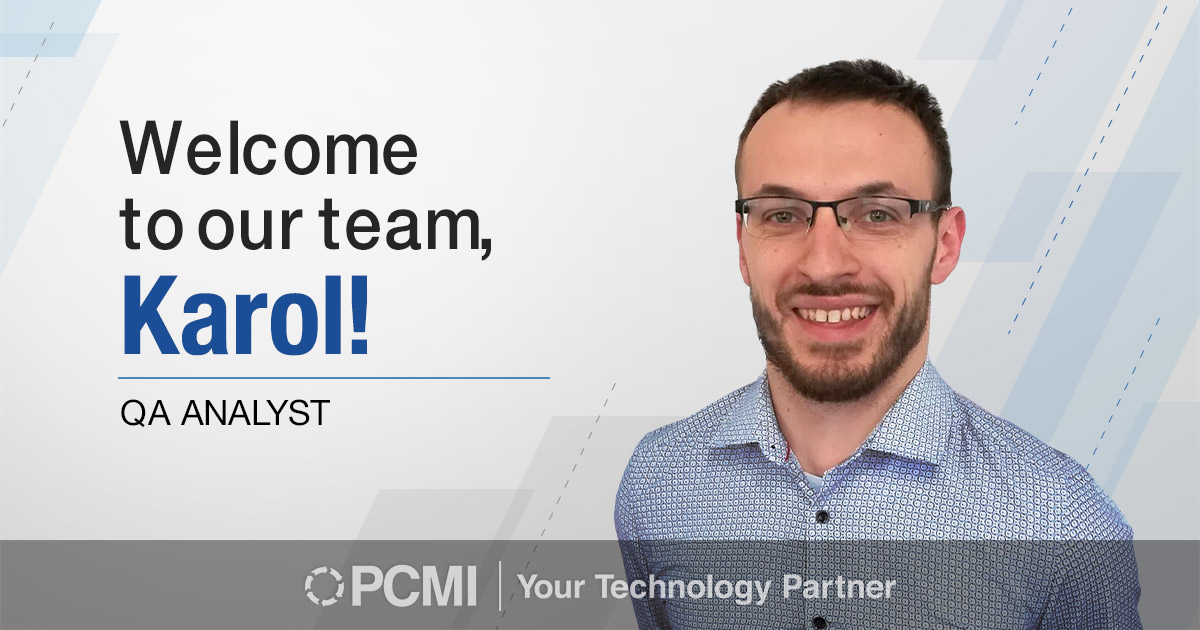 PCMI new hire karol solek photo
