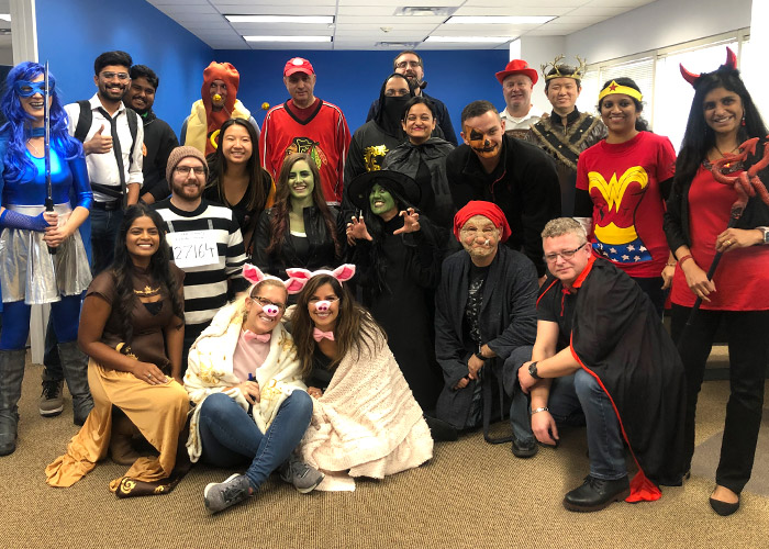 PCMI Chicago Team Halloween 2019