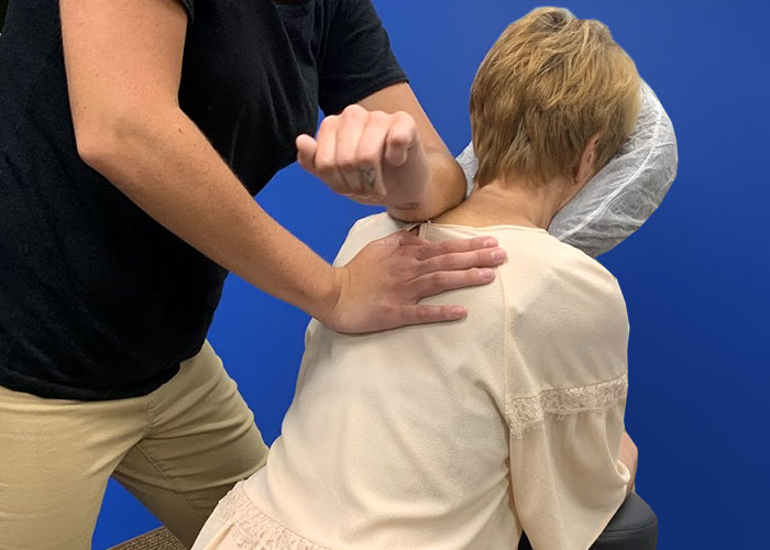massage day at PCMI Chicago office