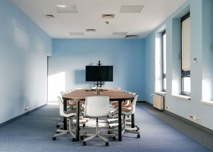 Poland office, big conference room