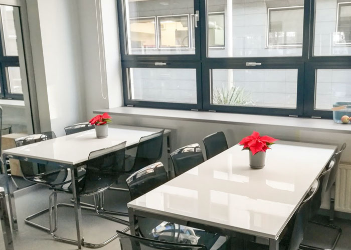 Poland office, kitchen