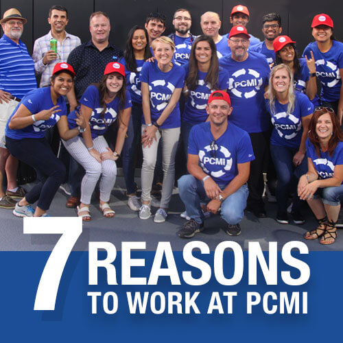 great team culture at pcmi
