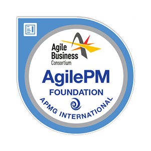 Agile Project Management Foundation certification badge