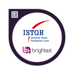 iSTQB Certified Tester Foundational Level badge