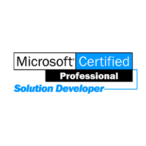 Microsoft Certified Professional Solutions Developer badge
