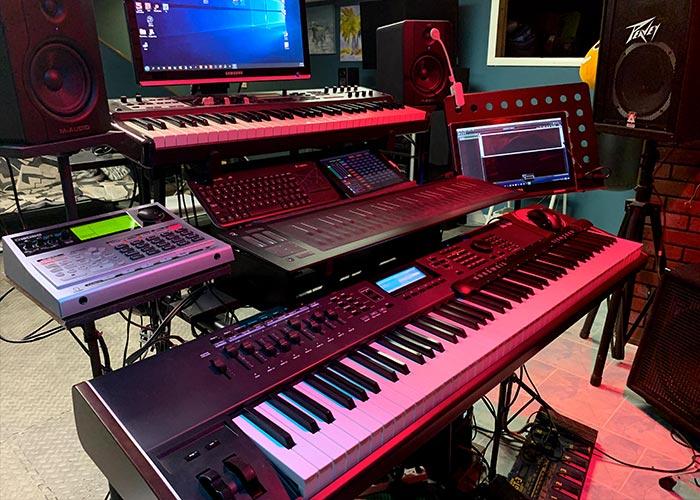 Ed's keyboard
