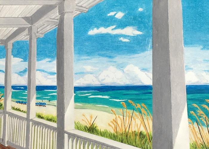 Russ art - ocean scene