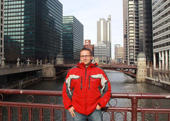 Marcin in Chicago