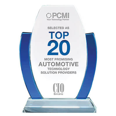 CIO award - most promising Automotive Technology Solutions Providers