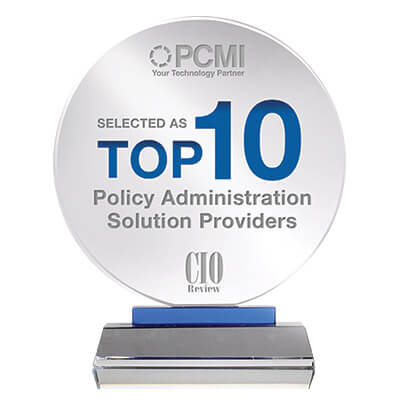 CIO award - Policy Administration Solution Providers