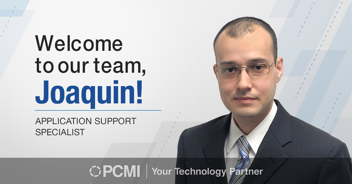 Welcome to our team, Joaquin
