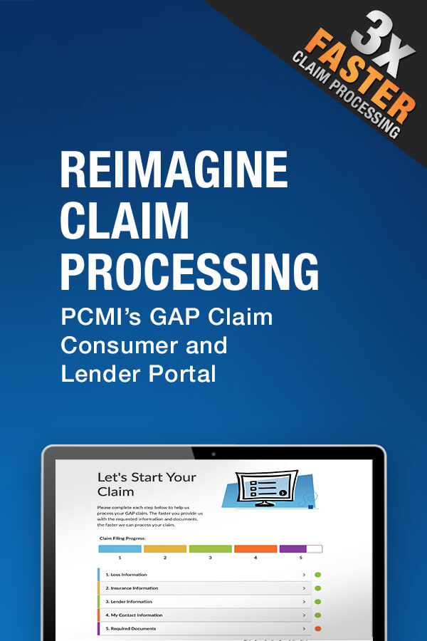 GAP Claim Consumer and Lender Portal