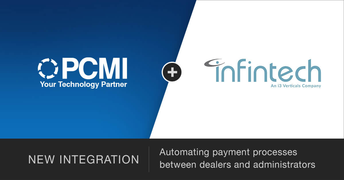PCMI + Infintech New Integration