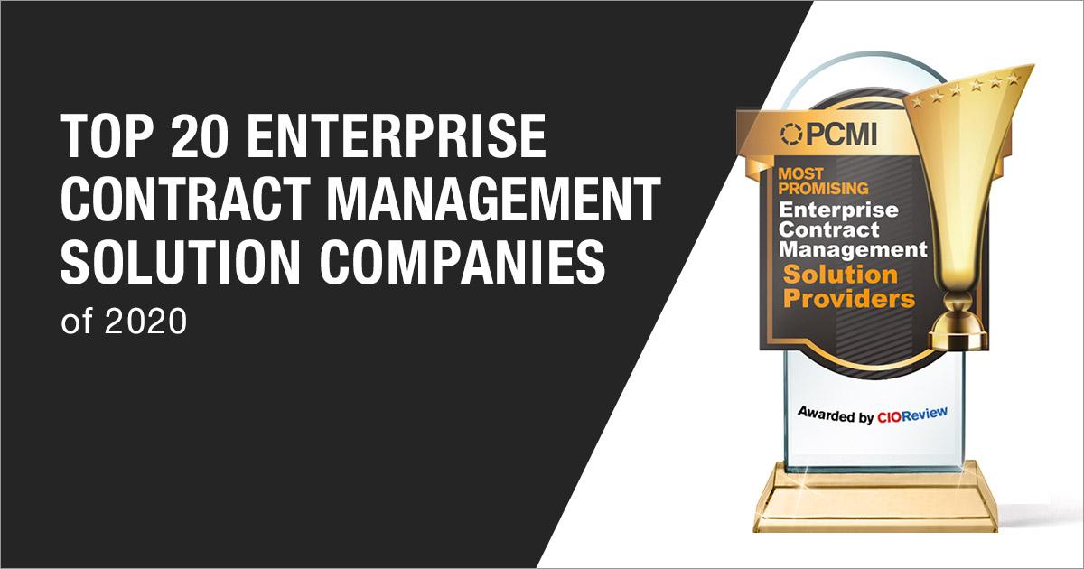 Top 20 Enterprise Contract Management Solution Companies
