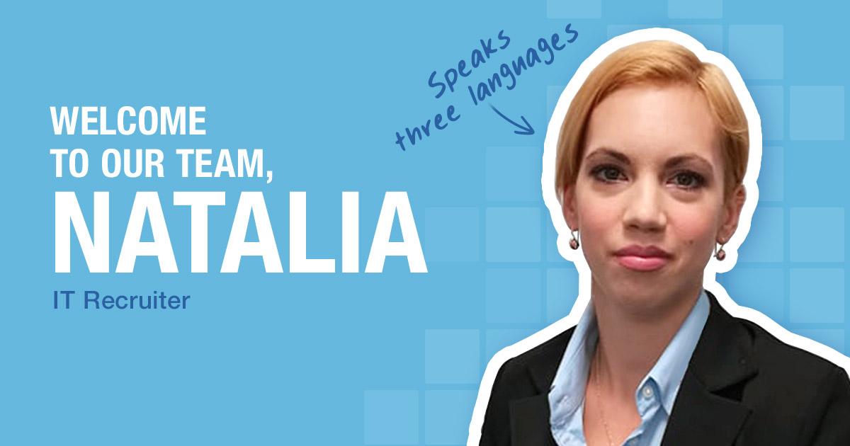 Welcome to our team, Natalia Ryłko