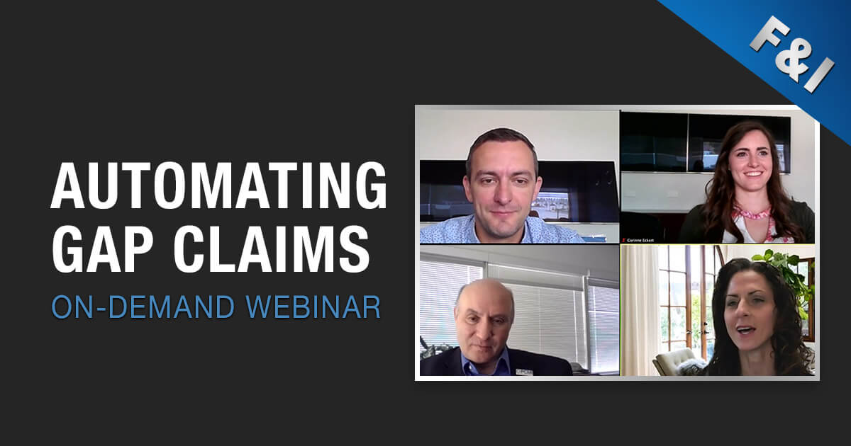 On-Demand Webinar - Automating Gap Claims