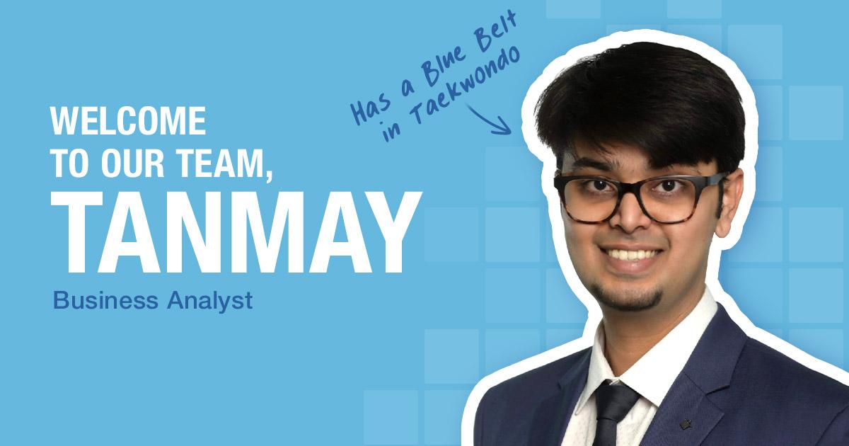 PCMI New Hire Tanmay Gaikwad
