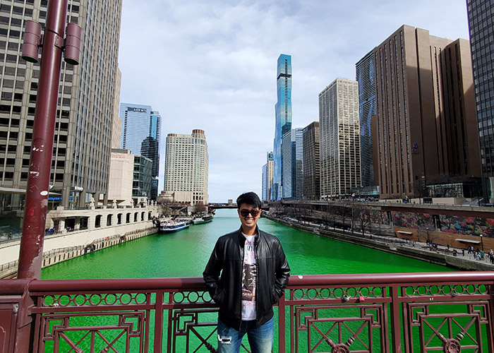 PCMI New Hire Tanmay Gaikwad in Chicago