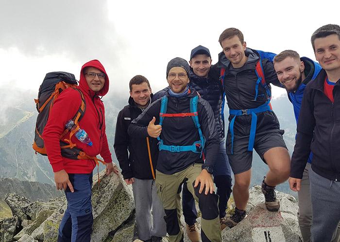 Poland team mountain trip