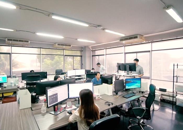 Thailand team office interior