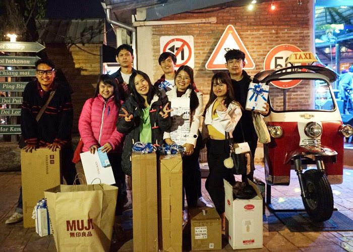 Thailand team new year dinner