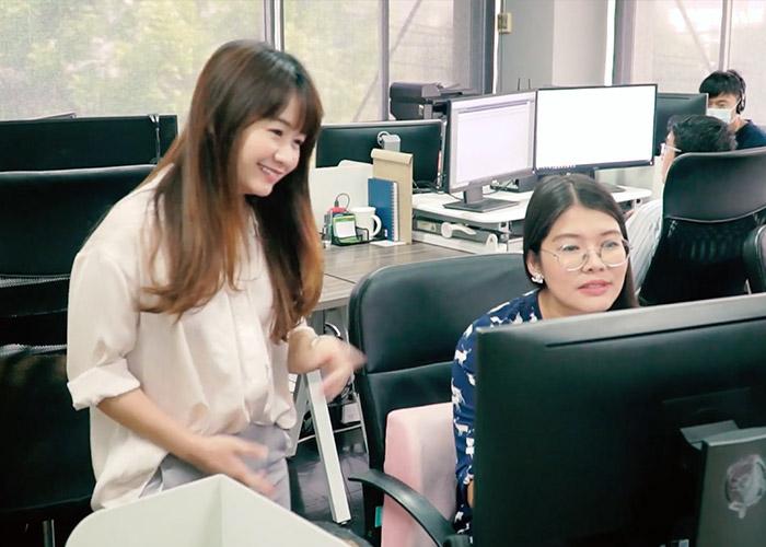 Thailand team working