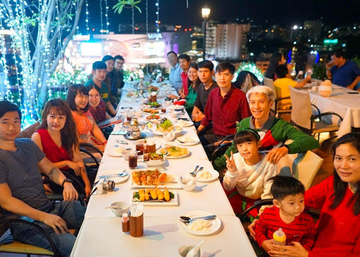Thailand team holiday dinner