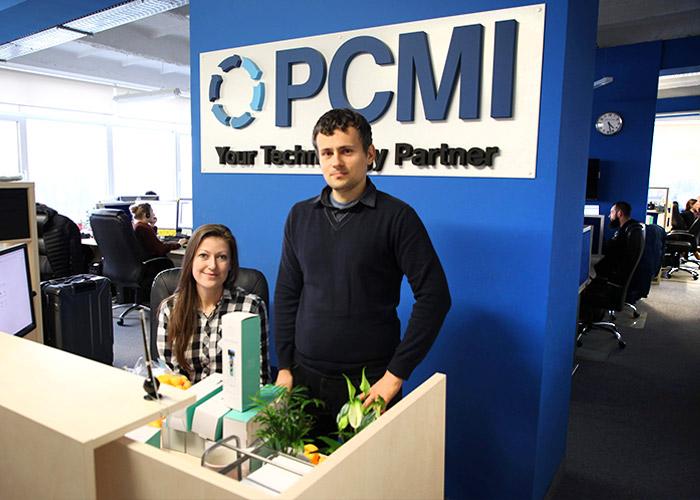 Poland team Kamila front desk