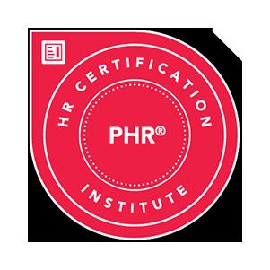 PHR - HR Certification Institute