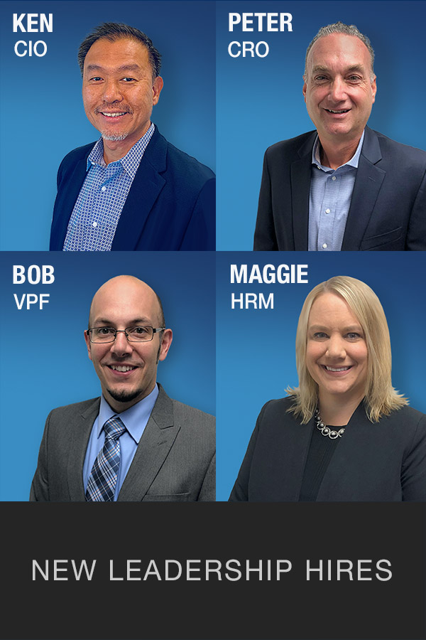 Press Release - New Leadership Hires