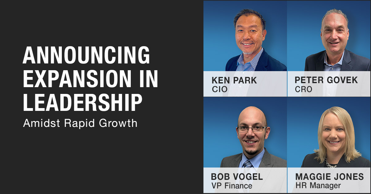 Press Release - Announcing Expansion in Leadership Amidst Rapid Growth