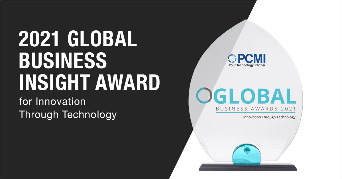 2021 Global Business Insight Award - PCMI