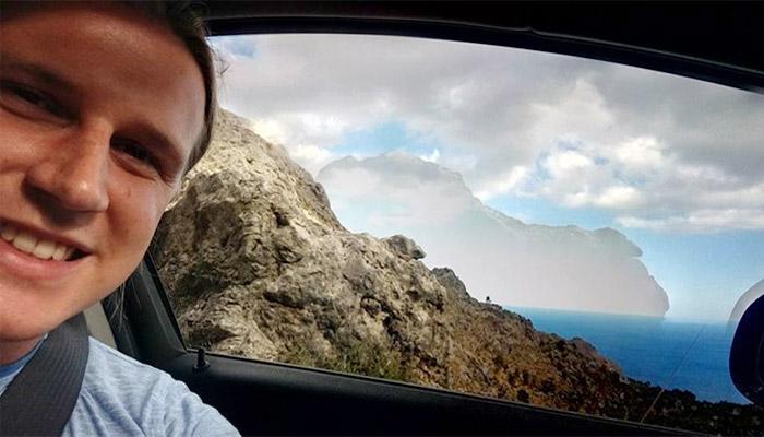 Wiktor Cholewa Fun Vacation Pic