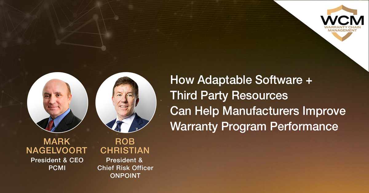 WCM Conference - How Adaptable Software and Third Party Resources Can Help Manufacturers