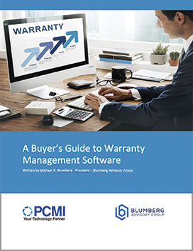 Buyer's Guide to Warranty Management Software - PDF Thumbnail